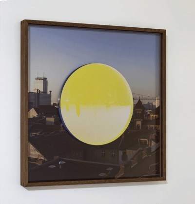 Your reversed Berlin sphere by Olafur Eliasson