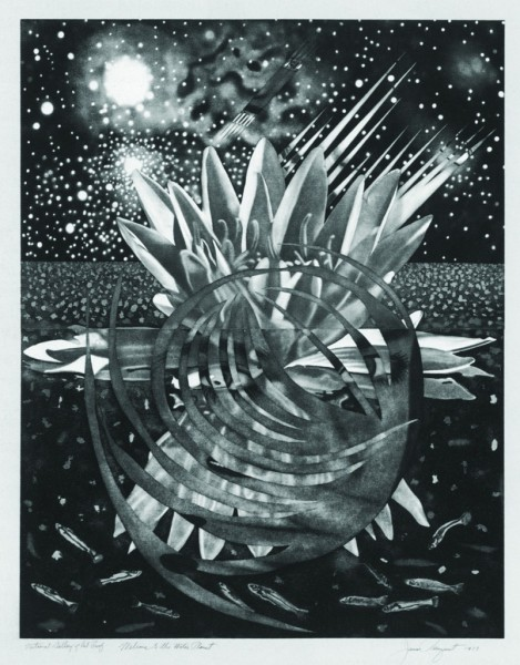 James Rosenquist, Welcome To The Water Planet, 1987