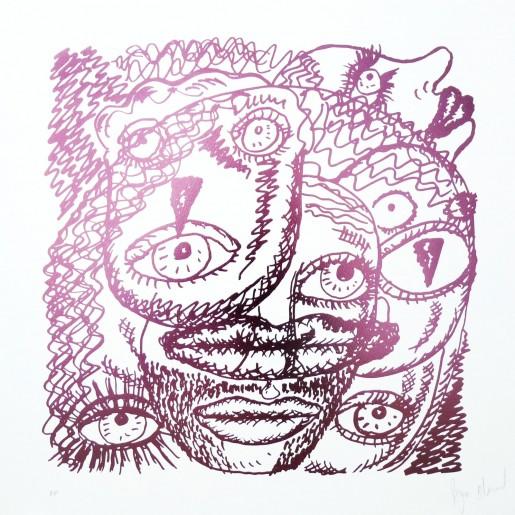 Bjarne Melgaard, Untitled - Pink, 2015