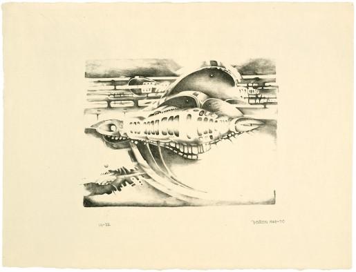 Lee Bontecou, Thirteenth Stone, 1970
