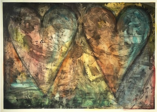 Jim Dine, Watercolored By Jim Dine, 2015