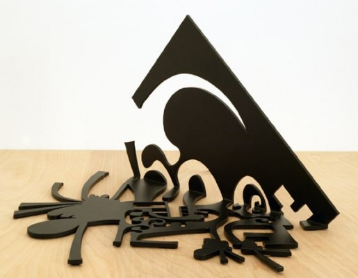 Carroll Dunham, Shadow in a Corner II, 2004