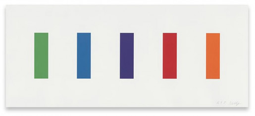 Ellsworth Kelly, Color Panels, 2011