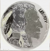 "Indian Head Nickel (FS II.385), from the Portfolio ""Cowboys and Indians"""