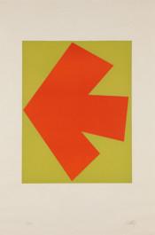 Orange over Green (Orange sur Vert), from the Suite of Twenty-Seven Color Lithographs