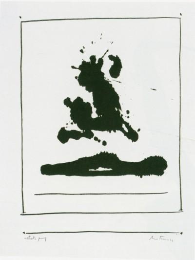 New York International: Untitled by Robert Motherwell