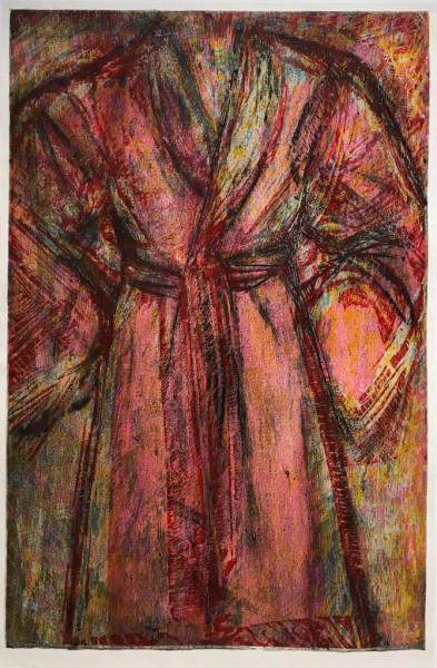 Jim Dine, Rosy Robe, 1998
