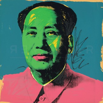Mao (FS II.93) by Andy Warhol