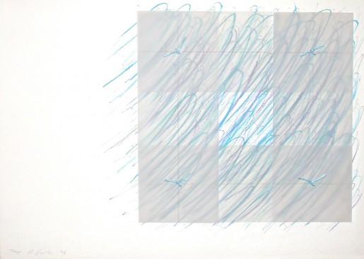 Richard Smith, Florentine II (blue), 1973