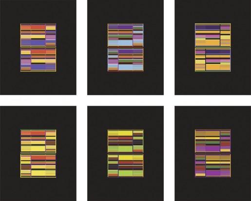 Liam Gillick, Six Discussion Screens, 2009