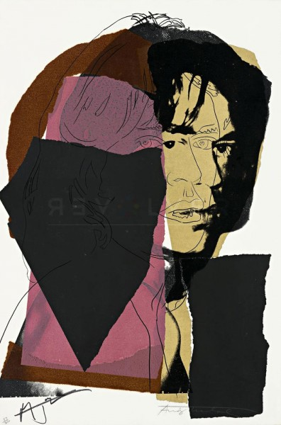 Andy Warhol, Mick Jagger (FS II.139), 1975