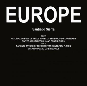 Europe by Santiago Sierra