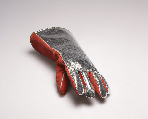 Firemans Glove with Photograph by Roman Signer