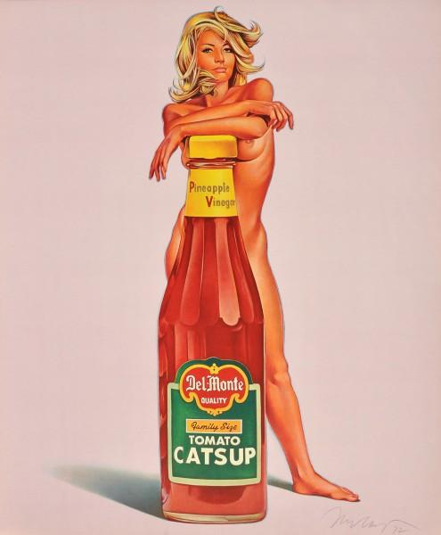 Mel Ramos, Tomato Catsup / Della Monty, 1972