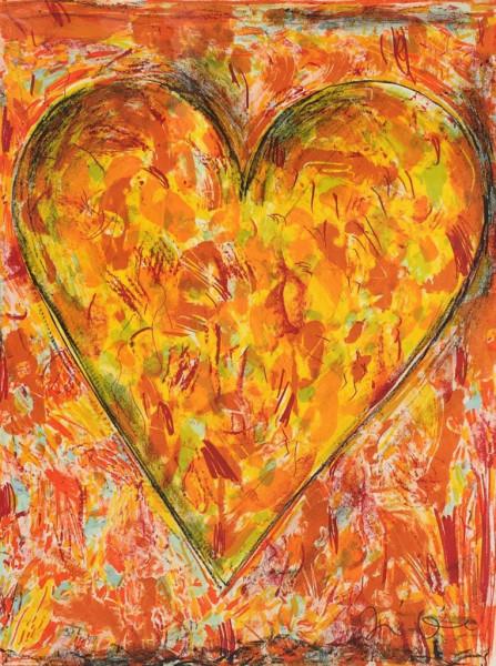 Jim Dine, Sunflower, 2005