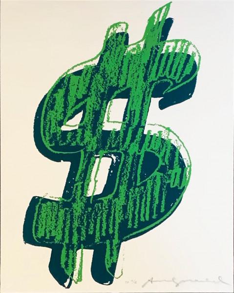 Andy Warhol, $ (1) (FS II.A 278), 1982