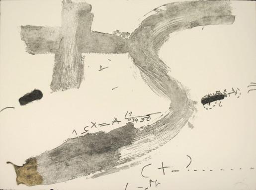 Antoni Tàpies, Creu i S, 1976