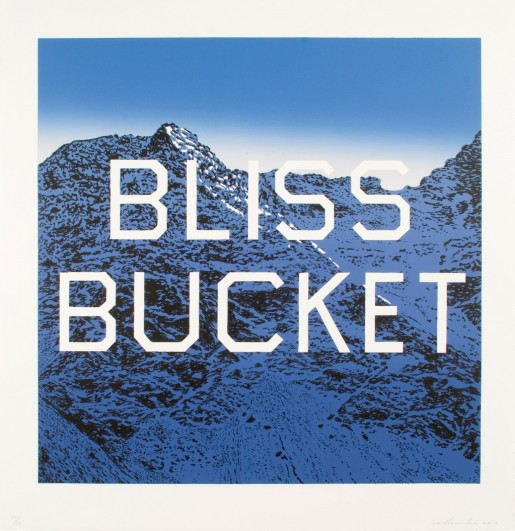 Ed Ruscha, Bliss Bucket, 2010