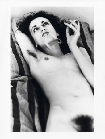 Violetta Sanchez, Paris 1979 by Helmut Newton