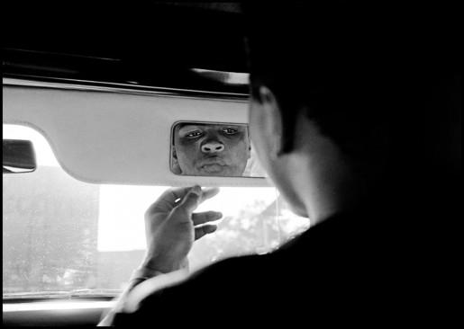 Thomas Hoepker, Ali in the Mirror, London, 1966