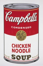 "Chicken Noodle (FS II.45), from the Portfolio ""Campbell's Soup I"""