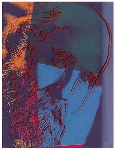 Andy Warhol-Martin Buber, from 10 Portraits Of Jews Of The 20th Century