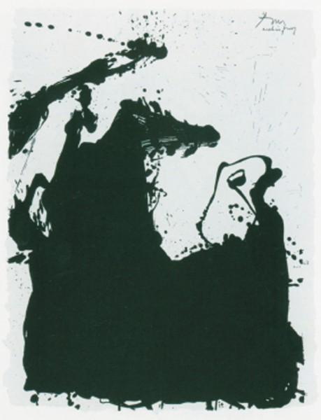 Robert Motherwell, Monster, 1975