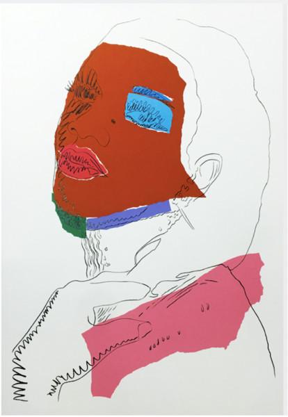 Andy Warhol, Ladies and Gentlemen (FS II.127), 1975