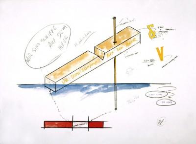 Wir sind keine Enten auf dem Teich, Wir sind Schiffe auf dem Meer (Sculpture for Hamburg Project)