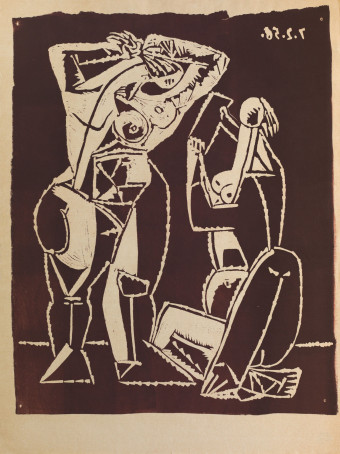 Femmes au Miroir by Pablo Picasso