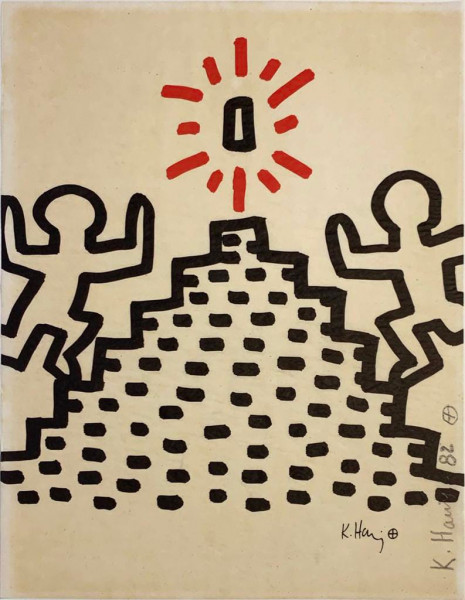 Keith Haring, Bayer Suite #2, 1982