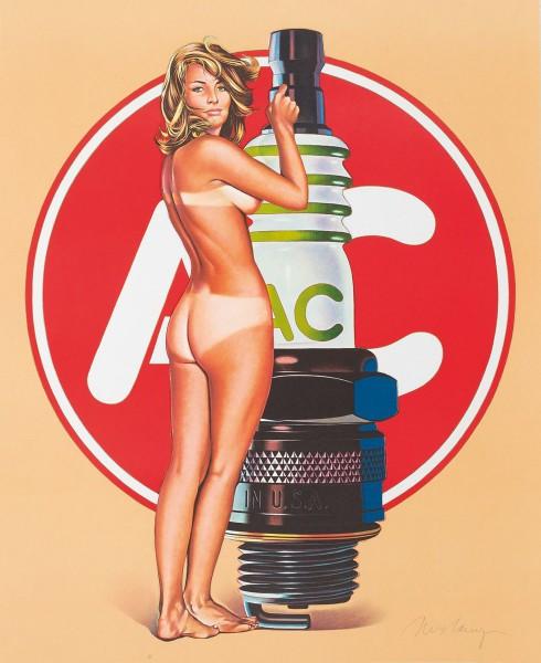 Mel Ramos, A.C. Annie, 1971
