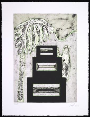 Maracas (Speaker Box) by Peter Doig