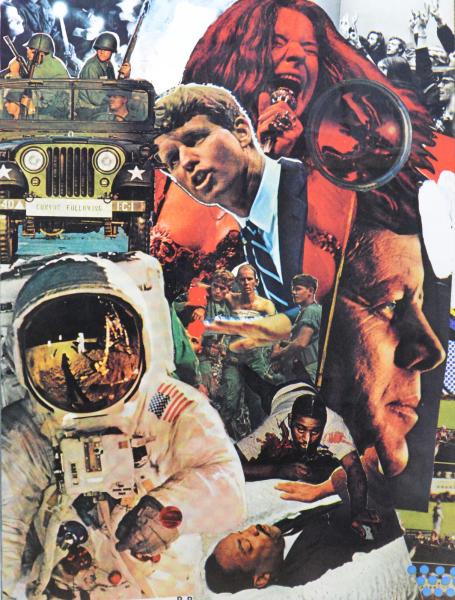 Robert Rauschenberg, Signs, 1970