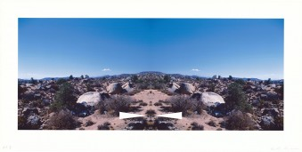 Bow-Tie Palm Springs (Bow-Tie Landscapes) by Ed Ruscha