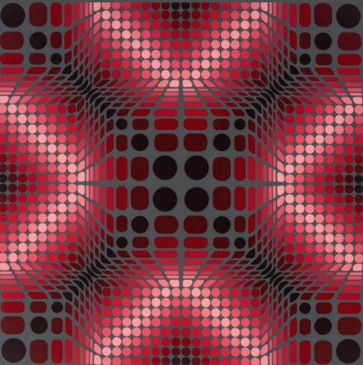 Victor Vasarely, Boulouss, 1984