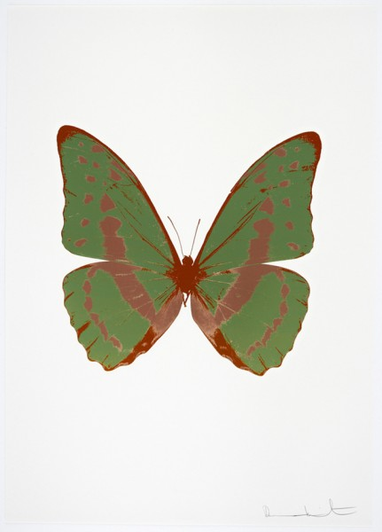 Damien Hirst, The Souls III - Leaf Green/Rustic Copper/Prairie Copper, 2010