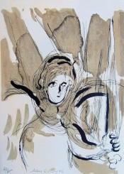 "Angel with Sword, from ""The Bible"" (L'ange à l'épée)"