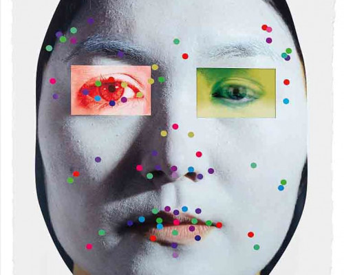Recognition (image 5-1.3) by Tony Oursler