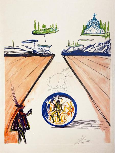 Salvador Dalí, Intra-Uterine Paradesiac Locomotion, 1975-1976