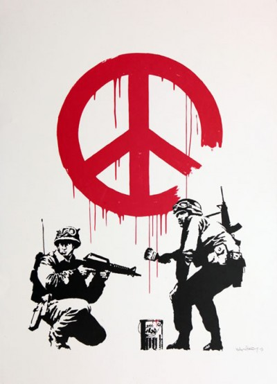 Banksy - CND Soldiers