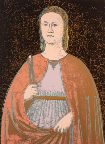 Saint Apollonia (FS II.331) by Andy Warhol