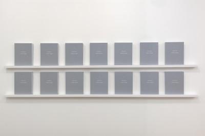 Claude Closky, Inside a Triangle, 2011
