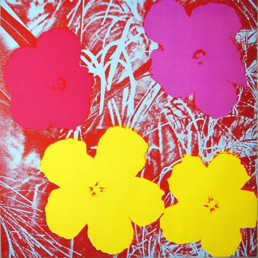 Andy Warhol, Flowers (FS II.71), 1970