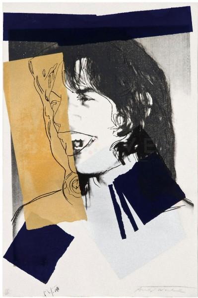 Andy Warhol, Mick Jagger (FS II.142), 1975