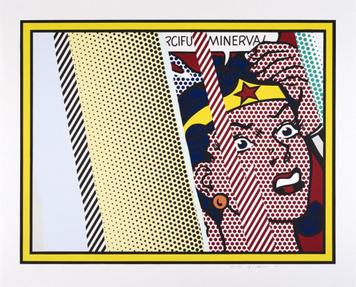 Roy Lichtenstein, Reflections On Minerva, 1990