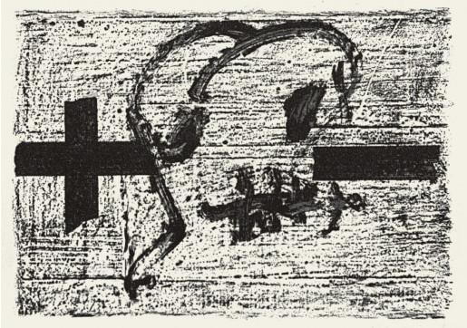 Antoni Tàpies, Llambrec 7, 1975