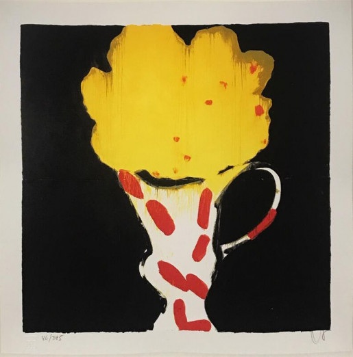 Donald Sultan, Poetic Images (Cup), 1998