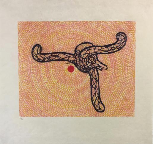 Max Ernst, Affiche pour l'Orangerie, 1971