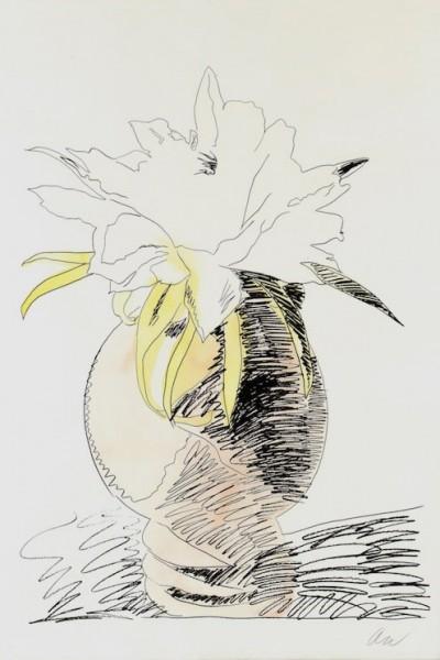 Andy Warhol, Flowers (Hand-Colored) II.114, 1974